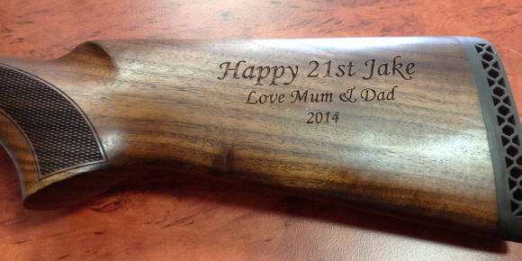 Timber Engraving